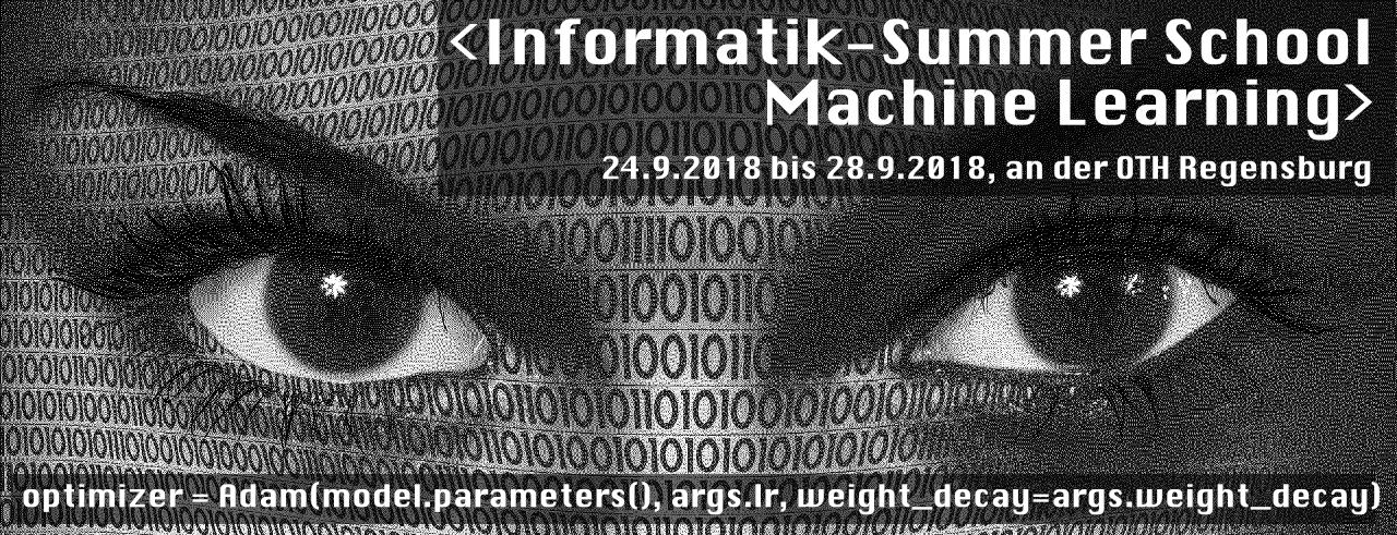 Informatik-Summerschool Machine Learning